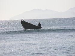 China Beach Fishing by Heather Shaw