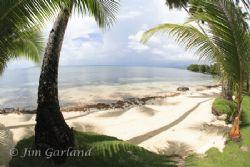 Blue Lagoon - Chuuk by Jim Garland