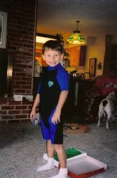 Thanks Grandma, My FIRST Wetsuit by Marylin Batt