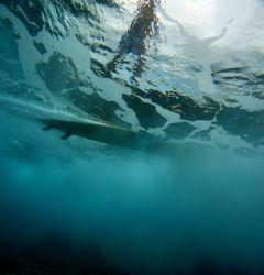 """Below the Wave Rider"". Photo taken at Sunset Beach, Nort... by Mathew Cook"