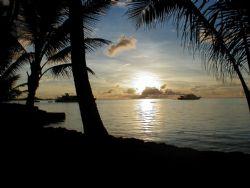 A Nice Truk Lagoon sunset! by Nicolas Pohl
