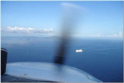 Our Cessna 172 from San Juan to ST. Thomas, a two day tri... by Osvaldo Deleon