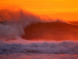 """Warm Wave"". This photo was taken on the North Shore of O... by Mathew Cook"