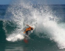 """""""Slash"""" There are some great surfers here in Hawaii. Than... by Mathew Cook"""