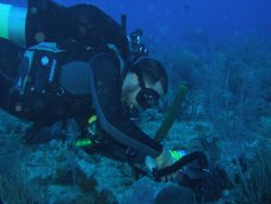 "my friend osvaldo working with his camara on ""level dive ... by Victor J. Lasanta Garcia"