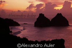 Fernando de Noronha´s Island Landscape. This are called  ... by Alexandro Auler