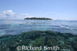 Sipadan Island from South Point. by Richard Smith