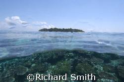 Sipadan Island from South Point. by Richard Smith