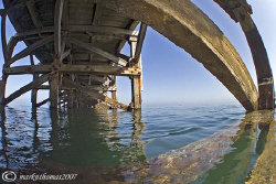 Trefor Pier, N. Wales. D200, 10.5mm. by Mark Thomas