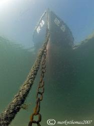 Fishing Boat. Trefor Pier, N. Wales. D200, 10.5mm. by Mark Thomas