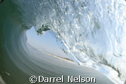 taken with my housing while riding in the barrel on my bo... by Darrel Nelson