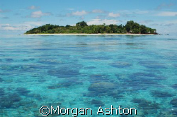 Sipadan at low tide. by Morgan Ashton