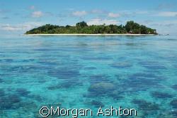 Sipadan at low tide. by Morgan Ashton