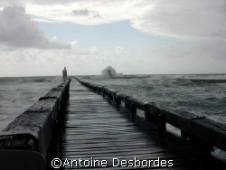 Easter gust of wind in Biscaye gulf by Antoine Desbordes