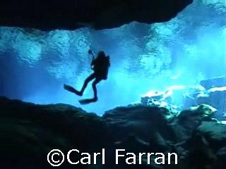 photographer diver by Carl Farran