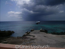 Surface interval Grand cayman by Karen Upchurch