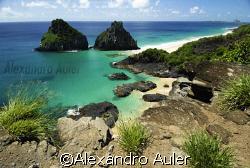 Pigs Bay. Archipelago of Fernando de Noronha. by Alexandro Auler