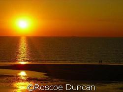 sunset by Roscoe Duncan