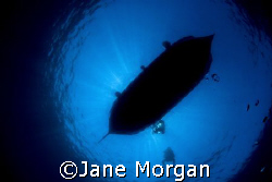 Lurking under the boat. Taken in Gozo with a D80. by Jane Morgan