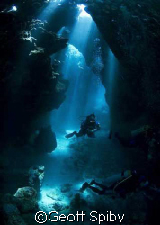 taken in the caves at Samadai reef, southern Egypt by Geoff Spiby