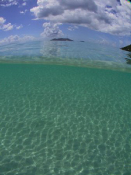 The shallows of Cane Garden Bay distorted by my Inon 100d... by Terry Moore