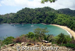 This shot was taken in Tobago on June 24, 2007 with a Son... by Bonnie Conley