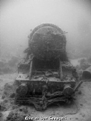 loco engine on the thisslegorm by Peter Von Savageri