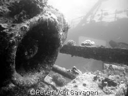 red sea wreck by Peter Von Savageri