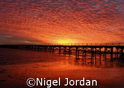"""The Local"" dive site - 1 Mile Jetty Carnarvon WA by Nigel Jordan"