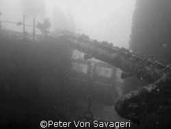 wreck in the red sea..... natural light but changed to b & w by Peter Von Savageri