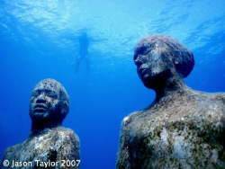 Viscissitudes, part of the grenada underwater sculpture park by Jason Taylor
