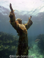 Jesus, Key Largo, FL by Brian Gonzales