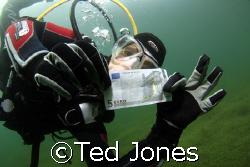 """""""Treasure"""" in the Kulkwitzesee in Germany by Ted Jones"""