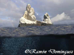 Use to be a volcano, Roca Partida is one of the most remo... by Ramón Domínguez