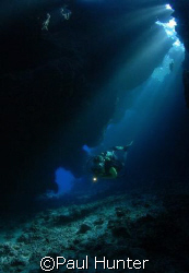 Awesome dives in St Johns caves by Paul Hunter