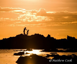 """""""Mother Son Adventure"""". Photo taken on Oahu's North Shore... by Mathew Cook"""