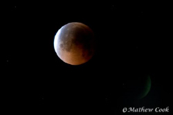 """Lunar Eclipse"" Although not a typical UW photo entry, th... by Mathew Cook"