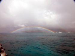 Moanalua Bay off Portlock point of Oahu in Hawaii we had ... by Jeffrey Cowie
