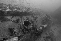 U-352 wreck.  Carolina.  D70, 12-24 mm lens, no strobe. by David Heidemann