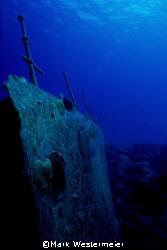Sea Relic - Nikonos V, 15mm lens taken in Grand Cayman by Mark Westermeier