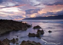 """Sunset, Oahu, Hawaii"" Photo taken on Oahu's North Shore. by Mathew Cook"