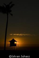 Sunrise at Gold Coast. by Istvan Juhasz