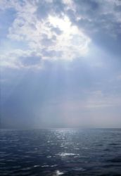 between sea & sky. taken with nikon n55 28-80 lens by Sergio Eduardo Diaz Rojas