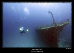 maldivian wreck 10-22mm by Stewart Smith