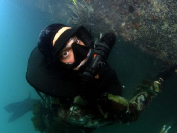 US Navy SEAL at work (released) by Andrew Mckaskle