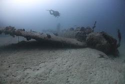 "Nakajima B6N ""Jill"" Torpedo Bomber - Chuuk / Truk Lagoon. by Jim Garland"