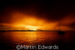 """Golden Darkness"", called like this since the darkness is... by Martin Edwards"