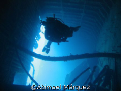 The wreck of The Chikuzen, British Virgin Island.
