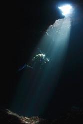 Blue Hole - Croatia. by Jim Garland