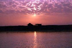 Sunset, Jubail-Saudi Arabia, Nikon F90x 35mm by Khalid Al--Shaikh
